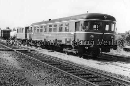 Bremervörde - Osterholzer Eisenbahn - Abstellgleis - Triebwagen