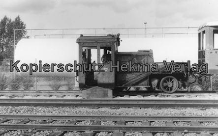 Bremervörde - Osterholzer Eisenbahn - Abstellgleis - Lok BOE 205
