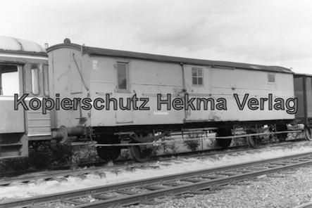 Bremervörde - Osterholzer Eisenbahn - Abstellgleis - Gerätewagen
