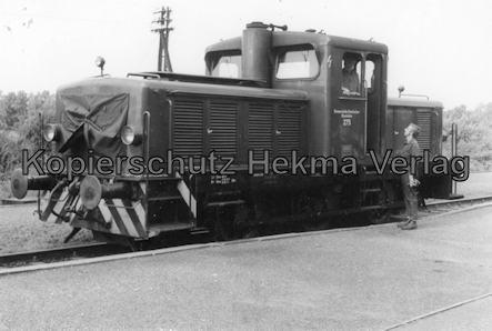 Bremervörde - Osterholzer Eisenbahn - Abstellgleis - Diesellok 275