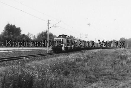 Bremervörde - Osterholzer Eisenbahn - Zug auf der Fahrt nach Stade