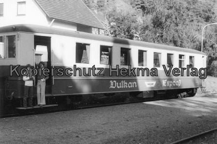 Brohtal Kleinbahn - Station Burg Brohl - Vulkan Expreß