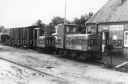 Holm Seppensen - Kleinbahn (Feldbahn) - Verein Deinste - Bahnhof Deinste Klb - Dieselloks