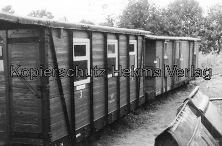 Holm Seppensen - Kleinbahn (Feldbahn) - Verein Deinste - Bahnhof Deinste Klb - Wagen