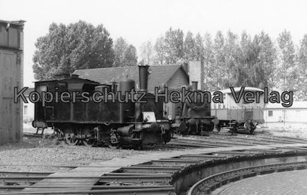 Kranichstein - Bw Kranichstein - Fahrzeugsammlung der Darmstädter Eisenbahnfreunde - Drehscheibe und Lokomotiven