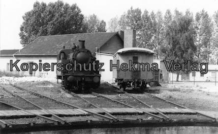 Kranichstein - Bw Kranichstein - Fahrzeugsammlung der Darmstädter Eisenbahnfreunde - Drehscheibe und Lokomotive