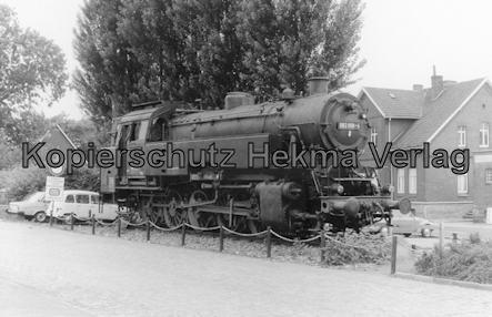 Lingen Ems - Lingen Bahnhof - Denkmallok 082 008-4