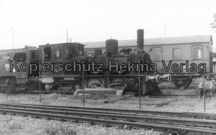 Rheine - Tecklenburger Bahnhof - Lok 89 7538