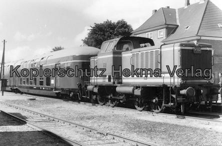 Schönberger Strand - Schönberg - Sonderzug mit Diesellok V 62