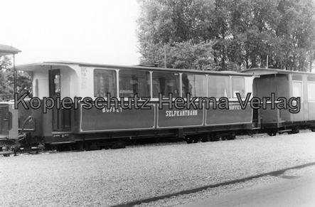 Interessengemeinschaft historischer Schienenverkehr - Auf der Strecke der Selfkantbahn - Buffet-Wagen der Selfkantbahn