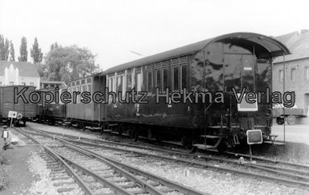 Interessengemeinschaft historischer Schienenverkehr - Auf der Strecke der Selfkantbahn - Personenwagen