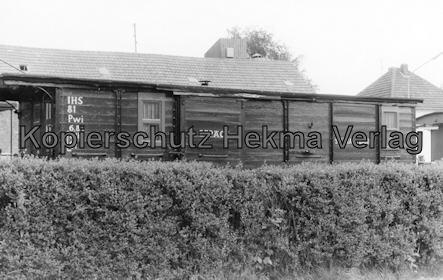 Interessengemeinschaft historischer Schienenverkehr - Auf der Strecke der Selfkantbahn - Güterwagen der Selfkantbahn