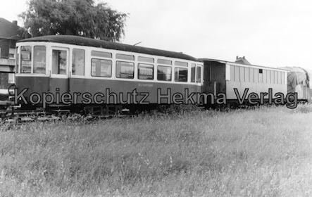 Interessengemeinschaft historischer Schienenverkehr - Auf der Strecke der Selfkantbahn - Schienenbus der Selfkantbahn