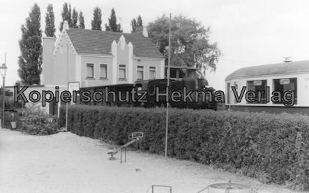 Interessengemeinschaft historischer Schienenverkehr - Auf der Strecke der Selfkantbahn - Dampflok