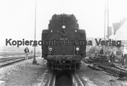Darmstadt-Kranichstein - Eisenbahnmuseum Dampflokfest - Lok 41 024
