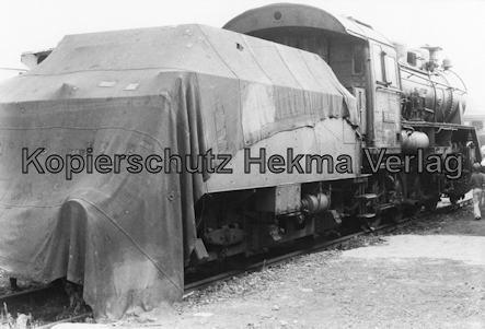 Darmstadt-Kranichstein - Eisenbahnmuseum Dampflokfest - Lok 56 3007