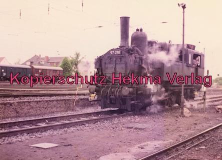 Darmstadt-Kranichstein - Eisenbahnmuseum - Lok 97 210