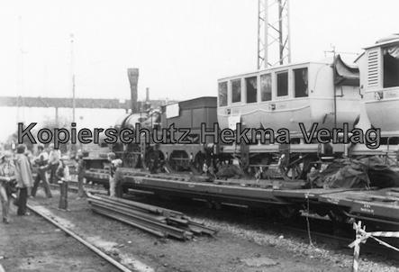 Darmstadt-Kranichstein - Eisenbahnmuseum Dampflokfest - Nachbau Adler