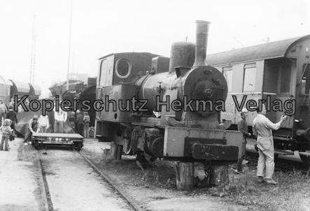 Darmstadt-Kranichstein - Eisenbahnmuseum Dampflokfest - Alte Dampflok