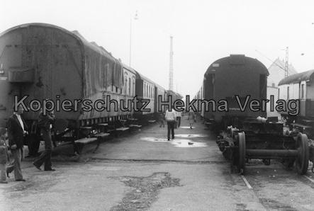 Darmstadt-Kranichstein - Eisenbahnmuseum Dampflokfest - Personenwagen