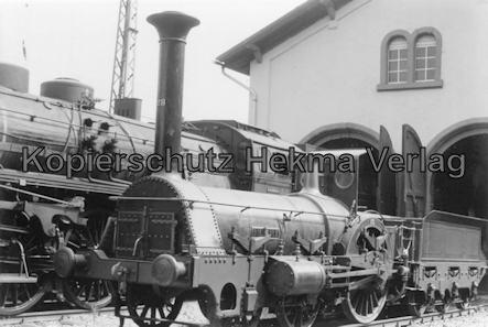 Eisenbahnmuseum Neustadt - Pfalzbahn-Museum - Lok Die Pfalz