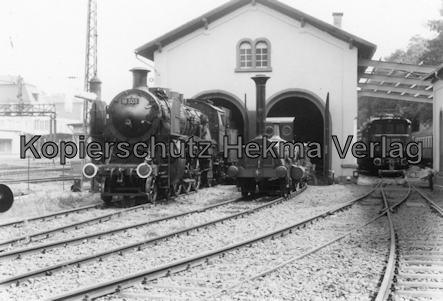 Eisenbahnmuseum Neustadt - Pfalzbahn-Museum - Wagenhalle, Lok 18 505, Lok Die Pfalz