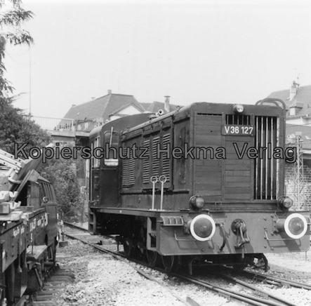 Eisenbahnmuseum Neustadt - Pfalzbahn-Museum - Wagenhalle, V36 127
