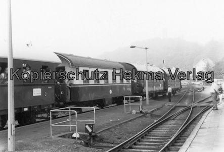Sonderzug nach Königstein i. T. - Bahnhof Königstein - Lok 41 024