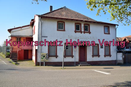Insheim (Pfalz) - Insheim Bahnhof - Gasthaus zum Bahnhof