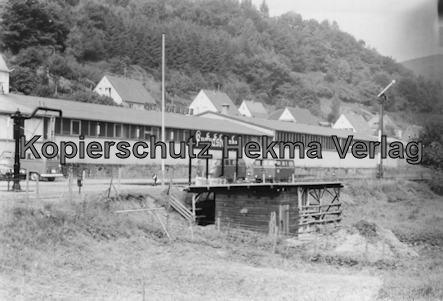 Kuckucksbähnel - Neustadt-Elmstein - Elmstein Bahnhof - Jubiläumsfahrt - Bahnhofsgelände