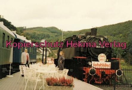 Kuckucksbähnel - Neustadt-Elmstein - Elmstein Bahnhof - Jubiläumsfahrt - Lok 064 006