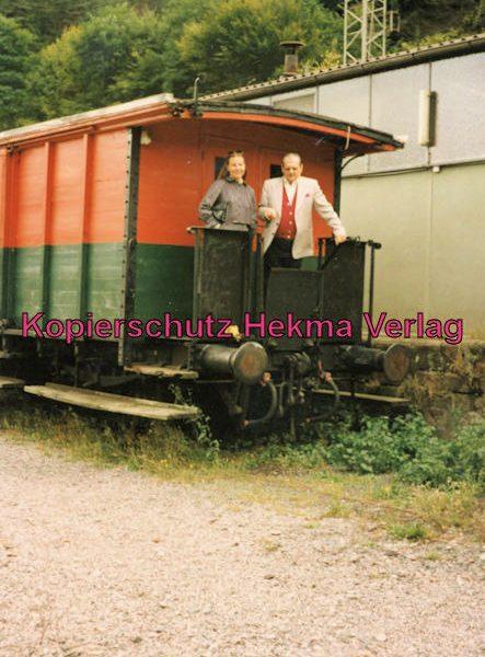 Kuckucksbähnel - Neustadt-Elmstein - Elmstein Bahnhof - Jubiläumsfahrt - Packwagen
