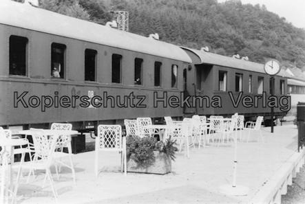 Kuckucksbähnel - Neustadt-Elmstein - Elmstein Bahnhof - Jubiläumsfahrt - Personenwagen