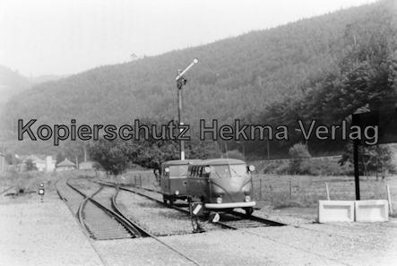 Kuckucksbähnel - Neustadt-Elmstein - Elmstein Bahnhof - Jubiläumsfahrt - Autos auf Schienen