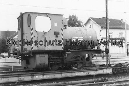 Viernheim - Rhein Neckar DGEG Eisenbahnmuseum - Schmalspurlok der Süddeutschen Kabelwerke Mannheim