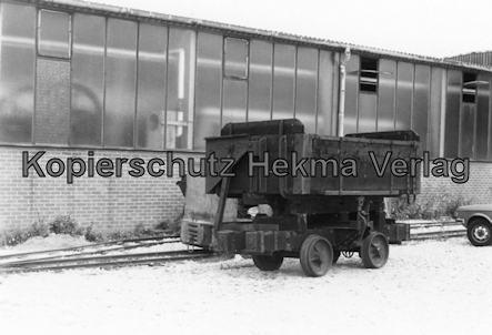 Viernheim - Rhein Neckar DGEG Eisenbahnmuseum - Kastenwagen