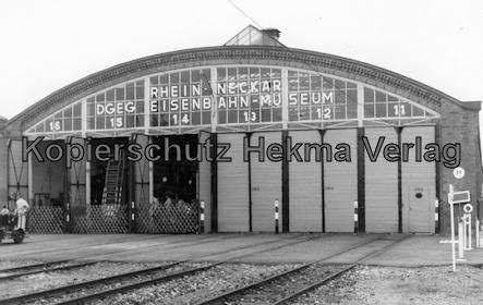 Viernheim - Rhein Neckar DGEG Eisenbahnmuseum - Wagenhalle