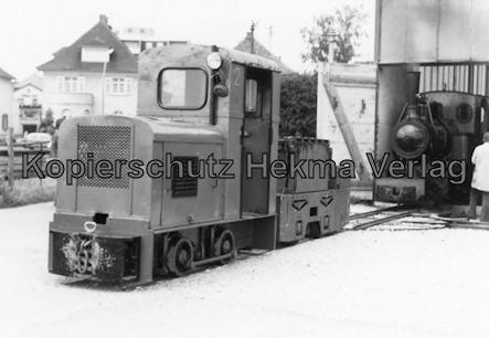 Viernheim - Rhein Neckar DGEG Eisenbahnmuseum - Schmalspurlok