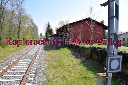 Barbelroth (Pfalz) Eisenbahn - Bahnhof Barbelroth - Bahnsteig
