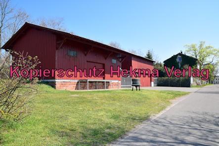 Barbelroth (Pfalz) Eisenbahn - Bahnhof Barbelroth - Ehemalige Halle der Güterabfertigung