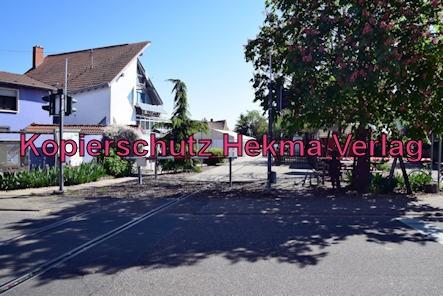 Südpfalz Draisinenbahn - Bornheim-Westheim - Bahnhof Westheim (Ende)