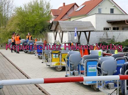 Südpfalz Draisinenbahn - Bornheim-Westheim - Bahnhof Westheim (Wende)