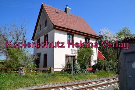 Kapellen-Drusweiler (Pfalz) Eisenbahn - Bahnhaltepunkt Kapellen-Drusweiler - Bahnhofsgebäude