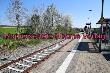 Kapellen-Drusweiler (Pfalz) Eisenbahn - Bahnhaltepunkt Kapellen-Drusweiler - Bahnhofsgelände