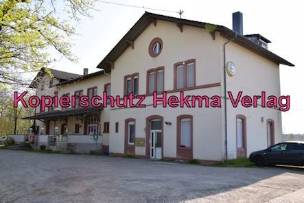 Schaidt (Pfalz) Eisenbahn - Bahnhof - Bahnhofsgebäude