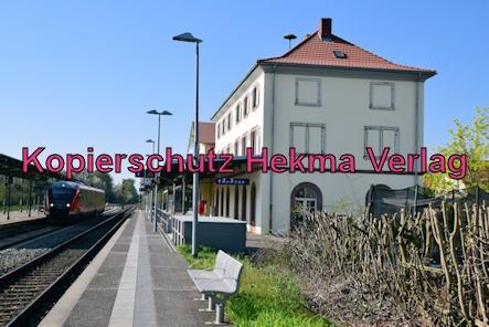 Winden (Pfalz) Eisenbahn - Winden Bahnhof - Bahnhofsgebäude