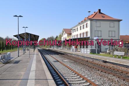 Winden (Pfalz) Eisenbahn - Winden Bahnhof - Bahnhofsgelände