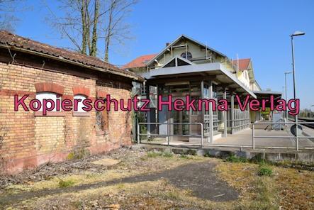 Winden (Pfalz) Eisenbahn - Winden Bahnhof - Bahnschuppen