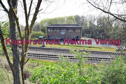 Winden (Pfalz) Eisenbahn - Nähe Winden Bahnhof - Stellwerk