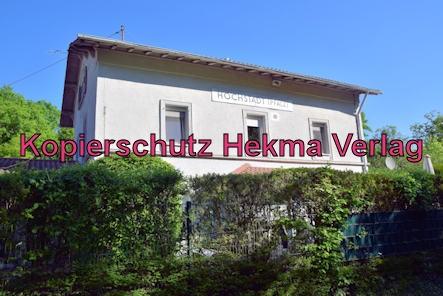 Landau-Germersheim - Untere Queichtalbahn - Bahnhof Hochstadt - Altes Bahnhofsgebäude Hochstadt